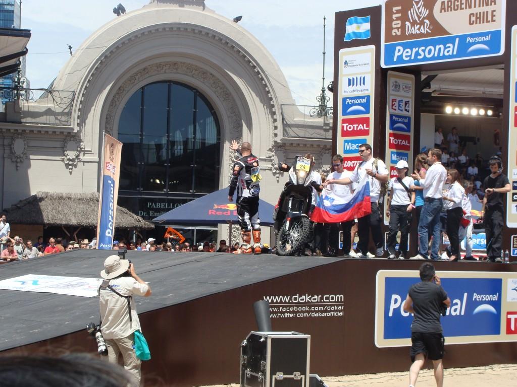 Podium Finish - Buenos Aires 2011